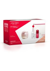 Shiseido Benefiance Wrinkle Smoothing Cream Enriched 50 ml + Cleansing Foam 5 ml + Softener Enriched 7 ml + Ultimune Concentrate 10 ml + Wrinkle Smoothing Eye Cream 2ml*5 Stck. +1 Pouch 1 Stk