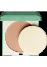 CLINIQUE - Clinique Stay Matte Sheer Kompaktpuder  7.6 g Nr. 17 - sun golden - Gesichtspuder