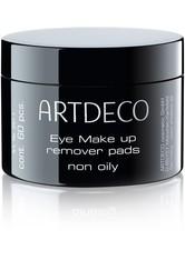 Artdeco Pflege Reinigungsprodukte Augen Make-up Entferner Pads Oil 60 Stk.