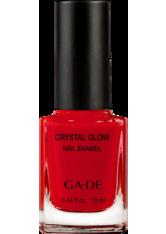 GA-DE Crystal Glow Nail Enamel 516 Velvety Fuchsia