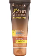 Rimmel Sunshimmer Water ResistantWash Off Instant Tan - Matt (125 ml) - Medium Shimmer