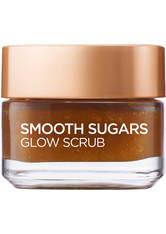 L'Oréal Paris Smooth Sugar Glow Grapeseed Face And Lip Scrub 50ml