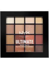 NYX Professional Makeup Ultimate Shadow Palette Lidschatten Palette  13.3 g Nr. 03 - Warm Neutrals