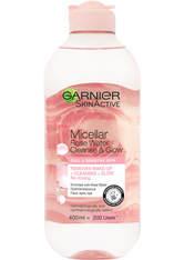 Garnier Makeup Remover Eco Pads and Rose Micellar Water Duo Set