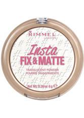 Rimmel Insta Fix & Matte Translucent Powder 8g