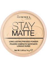 Rimmel Stay Matte Pressed Powder 14g 001 Transparent