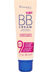 Rimmel BB Cream 9-in-1 Skin Perfecting Super Makeup SPF15 30ml Very Light (Light, Neutral)