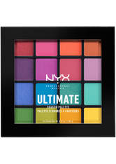 NYX Professional Makeup Ultimate Shadow Palette Lidschatten Palette 13.3 g Nr. Deep 1