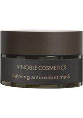 Vinoble Cosmetics Calming Antioxidant Mask 50 ml Gesichtsmaske