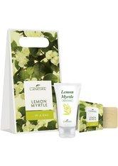 LaNature Geschenkset in Grifftasche klein Lemon Myrtle HC/SS Handpflegeset