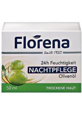 FLORENA - Florena 24h Feuchtigkeit Nachtpflege Olivenöl - NACHTPFLEGE