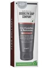 Brooklyn Soap Company 2-in-1 Gesichts-& Bartcreme Kamille & Arganöl