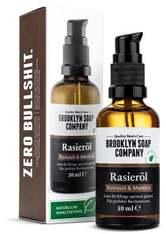 BROOKLYN SOAP COMPANY - Brooklyn Soap Company Rasieröl Rizinusöl & Menthol - RASIERÖL