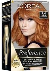 L'Oréal Paris Préférence 7.4 Kupferblond (Dublin) Coloration 1 Stk. Haarfarbe
