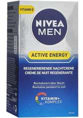 NIVEA MEN - NIVEA MEN Active Energy regenerierende Nachtcreme - GESICHTSPFLEGE