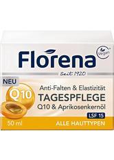 FLORENA - FLORENA Q10 & Aprikosenkernöl LSF 15 Tagescreme  50 ml - TAGESPFLEGE
