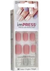 KISS - KISS imPRESS Press-On Manicure selbstklebende Fingernägel Shimmer - KUNSTNÄGEL