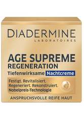 DIADERMINE - DIADERMINE Age Supreme Regeneration Tiefenwirksam Nachtcreme  50 ml - TAGESPFLEGE