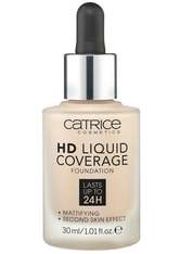 CATRICE - Catrice - Foundation - HD Liquid Coverage Foundation - 010 Light Beige - FOUNDATION
