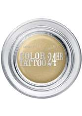 Maybelline Eyestudio Color Tattoo Lidschatten  3.5 g Nr. 5 - Eternal Gold