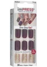 KISS - KISS imPRESS Press-On Manicure selbstklebende Fingernägel Forbidden - KUNSTNÄGEL