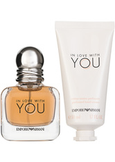 Giorgio Armani In Love With You EDP Geschenkset EDP 30 ml + 50 ml Hand Cream