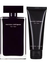 Narciso Rodriguez for Her EDT Geschenkset EDT 100 ml + 75 ml Körperlotion