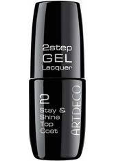 Artdeco 2Step GEL Lacquer Stay & Shine Top Coat Stay & Shine Top Coat 6 ml Nagelüberlack