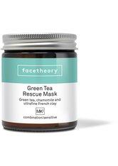 Grüntee Gesichtsmaske MK2 mit Kaolin-Ton, Kamille, Vitamin C und Avocado
