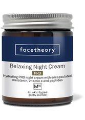 Beruhigende Nachtcreme M10 Pro mit verkapseltem Melatonin, Vitamin E und Peptiden